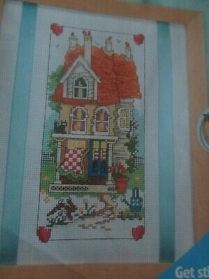 'How To Own A Dream Home...' Cross Stitch chart (Only)