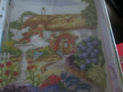 'Country Retreat' Cross Stitch chart (Only)