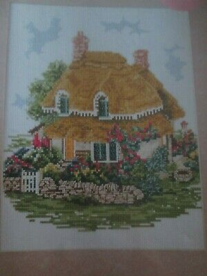 'Lilliput Country Cottage' Cross Stitch chart (Only)