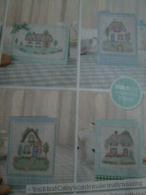 'Country Retreats' Cross Stitch chart (Only)