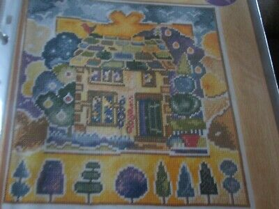 'Yew Tree Cottage' Cross Stitch chart (Only)