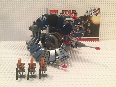 LEGO Star Wars #8086 Droid Tri-Fighter 100% Complete with 3 Minifigures