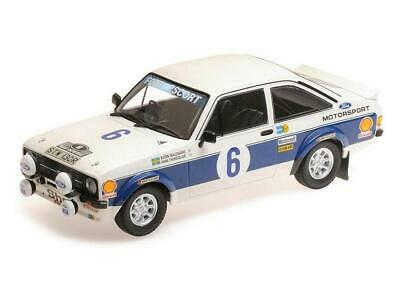 FORD RS 1800-WALDEGARD-WINNER ACROPOLIS RALLY 1977	155778706 Minichamps 1:18 New