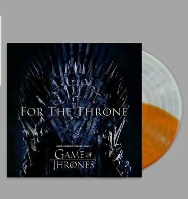 Game Of Thrones - For The Throne split colored vinyl Ltd Edition 3500 Worldwide