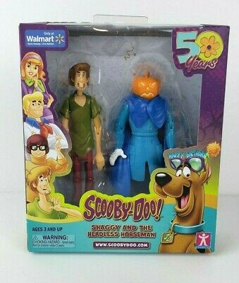 Walmart Exclusive 50 Years Of Scooby Doo Shaggy And The Headless Horseman Figure