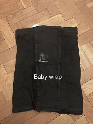 Baby Carrier Sling Black Stretchy Wrap from Mamas&Papas
