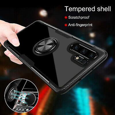 For Samsung Galaxy Note 10 Plus Luxury Hybrid Stand Ring Holder Slim Case Cover