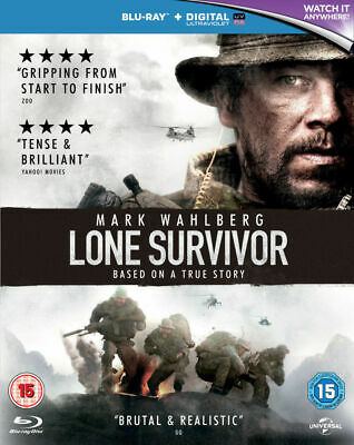 Lone Survivor (Mark Wahlberg) Blu Ray New & Sealed