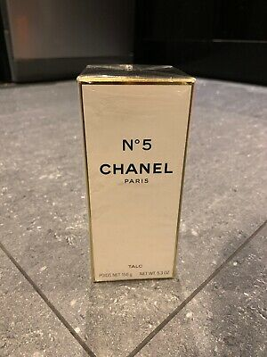 CHANEL No 5 - Vintage Perfumed Talc Powder 150g (unsealed)