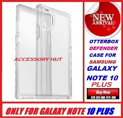 New Otterbox SYMMETRY Case for Samsung Galaxy Note 10 + Plus Clear 77-62353