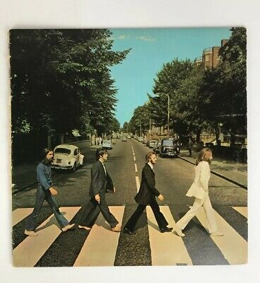 1969 The Beatles Abbey Road Apple Records SO383 LP Vinyl Album Cover Sleeve