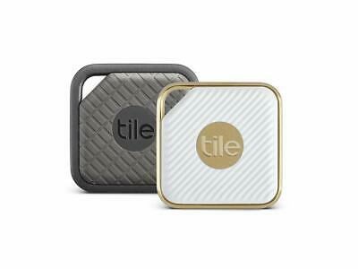 Tile Style & Sport Pro Series Combo Pack Bluetooth Wireless Item Trackers-Grey &