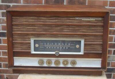 Vintage Rca 8-Rf-13 Orthophonic High Fidelity Radio For Parts Or Restore