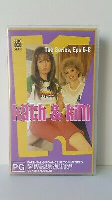 Kath & Kim, The Series, Episodes 5-8 - Video VHS Good Condition - PAL
