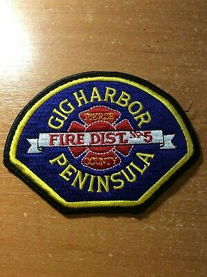 """Wildlande Plumas Helitack fire patch 4/"""" x 2.5/"""" size CA Helicopter 512"""