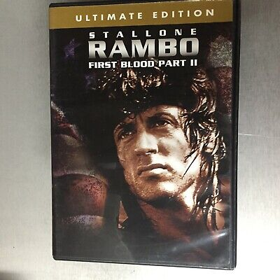 Rambo First Blood Part II 2  Ultimate edition DVD Sylvester Stallone