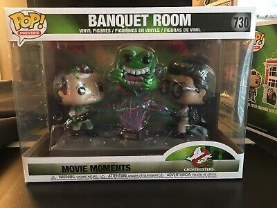 Funko Pop! Movie Moments Ghostbusters - Banquet Room Venkman Slimer (New)