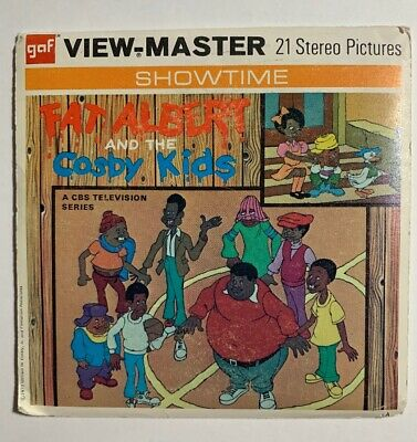 View-Master FAT ALBERT and the COSBY KIDS (1972 TV) B554 - 3 Reel Set + Booklet