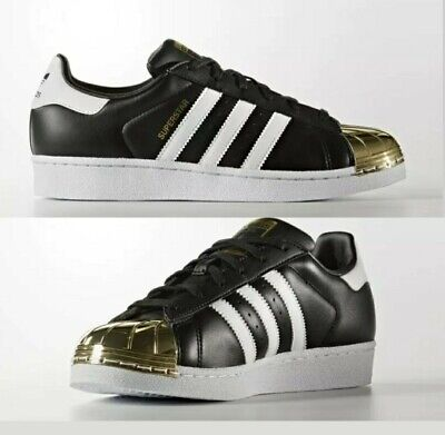 Adidas Superstar Metal Toe BB5115 schwarz-weiß-gold