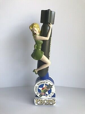 PROPS BLONDE BOMBER ALE tap handle