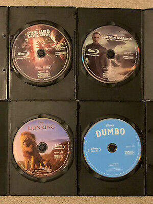 Disney/Marvel Blu-Ray Lot: Buyer Chooses any Blu-Ray(s) Movie with Blank Case