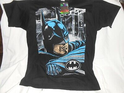 Vintage 1989 Batman Returns All Over Print New Graphic Single Stitch T Shirt