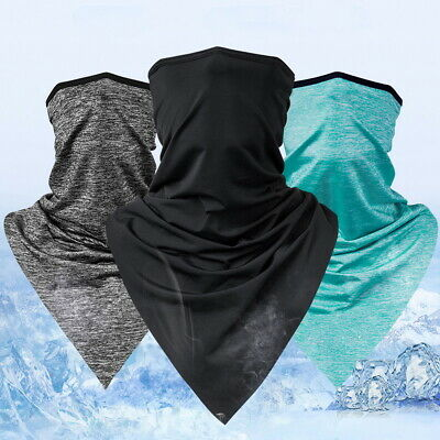 Half Face Mask Scarf Motorcycle Cycling Neck Cover Sun UV Protection Headwear