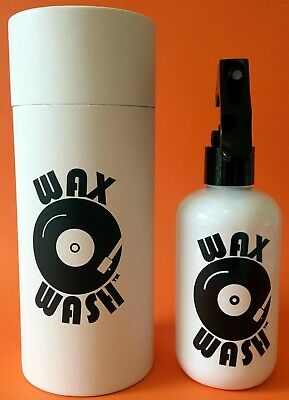 Vinyl Record Cleaner - Wax Wash - 250ml Bottle and 2 x Cloths, Free Postage