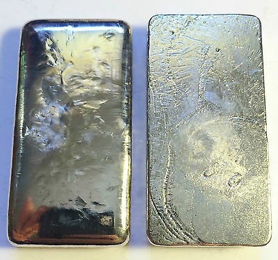 """NEW"" 5 OZ 999.0 Pure BISMUTH SPM Bullion "" Chunky Style"" Ingot (Great Invest) b"