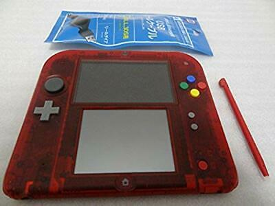 Nintendo 2DS Pokemon Pocket Monster Game Console Red Limited Version Japan F/S