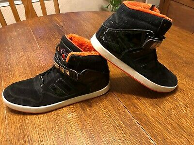 Adidas Originals Ar 2.0 Black High Tops Size 6.5