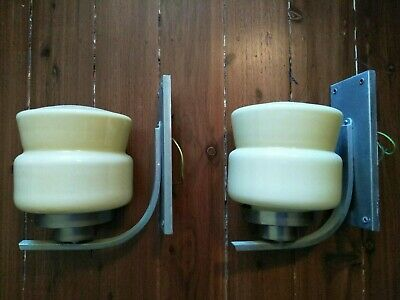 Art deco wall sconce light X 2