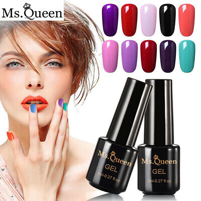 Ms. Queen Gel Nail Polish Top Base Coat UV/LED Gel Polish Varnish Lacquer