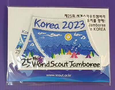 25th World Scout Jamboree 2023  Promotion Patch #1-2 / 2019 world jamboree