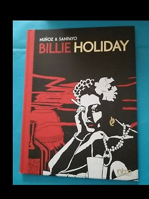 MUNOZ/SAMPAYO: BILLIE HOLIDAY del 2017