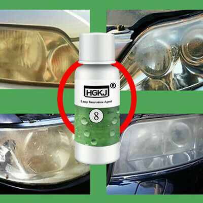 20/50 ml Liquid Car Scratch Remover Repair Headlight Polishing Wax Cleaner Tool