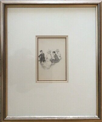 Norman Lindsay 1879-1969 Listed Australian Artist- 2 Original Drawings With Coa