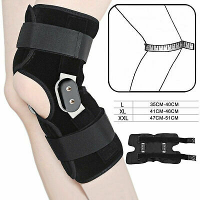 Aluminium Alloy Double-Hinged Knee Brace Medical Grade Support Breathable Open