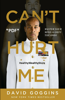 Can't Hurt Me By David Goggins: Master Your Mind! ⭐Best Deal ⭐Fast Delivery⭐