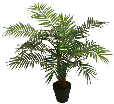 Best Artificial 3ft 90cm PARADISE PALM Tree Tropical PLANT Office Conservatory