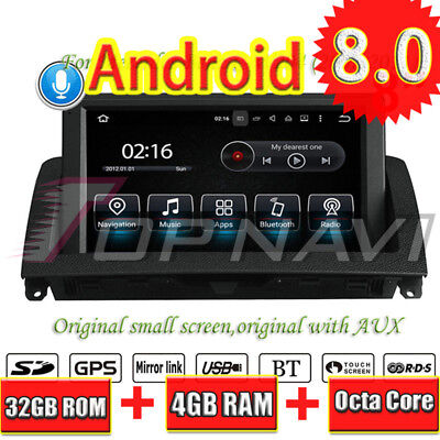 Android 8.0 Voiture DVD GPS Navi Stereo For Benz C-W204 2007-2011 Multimedia Pla