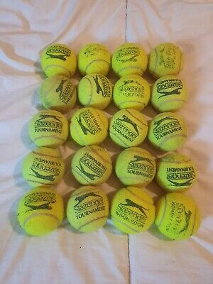 Used Slazenger tennis balls ~ 20 ~ good condition