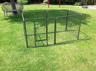 Ellie-Bo Extra Large 6 Panel heavy duty Pet Play Pen Dog Puppy Animal Run Cage