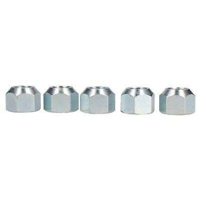 "5/8"" UNF Conical Wheel Nuts Nut Pack of 5 for Trailer Caravan Suspension Hubs"