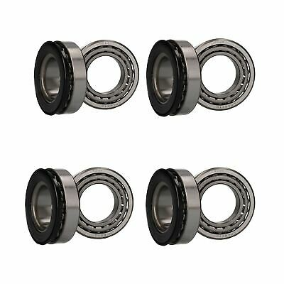 4 x Wheel Bearing Kit for Indespension Tow-a-Van Box Trailers Braked Twin Axle