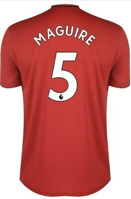 Harry Maguire, Manchester United Premier League Home Shirt 2019 - 20, Brand New