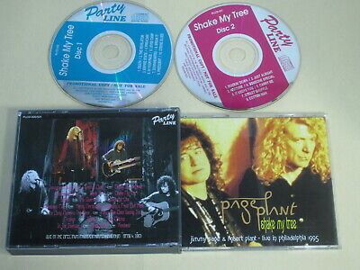 Led Zeppelin / Jimmy Page Robert Plant - Shake My Tree / Party Line 1995 USA 2CD