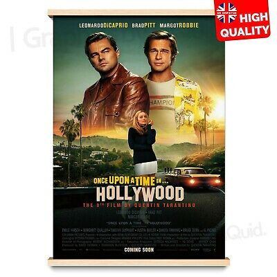Once Upon A Time in Hollywood 9th Quentin Tarantino Film Poster | A4 A3 A2 A1 |