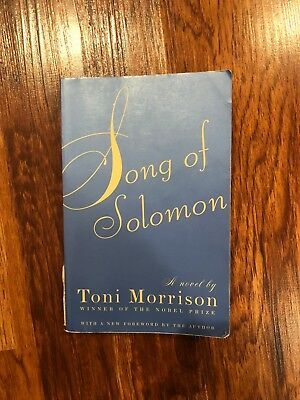 Song of Solomon by Toni Morrison   USED BOOK GOOD CONDITION