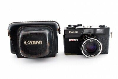 CANON Canonet QL17 GIII Black Rangefinder 35mm Film Camera JAPAN [As is] #480369